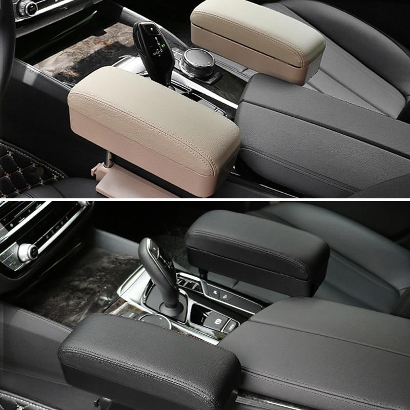 JoyLamoria Boho Mandala Hippie Elephant Design Universal Car Center Console Arm Rest Cushion Auto Armrest Cover Arm Rest Pad Protector Fit for Most Sedan SUV Truck