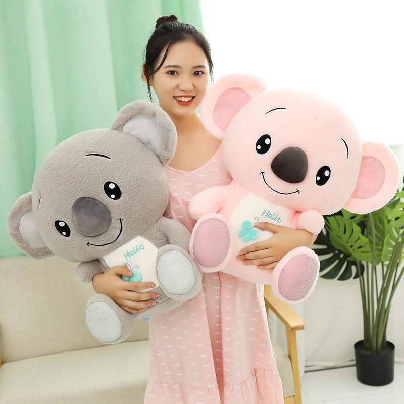 1pc 30-60cm Soft Kawaii Australia Animal Koala Plush Toys Stuffed Animal Koala Bear Doll For Kids Children Lovely Christmas Gift