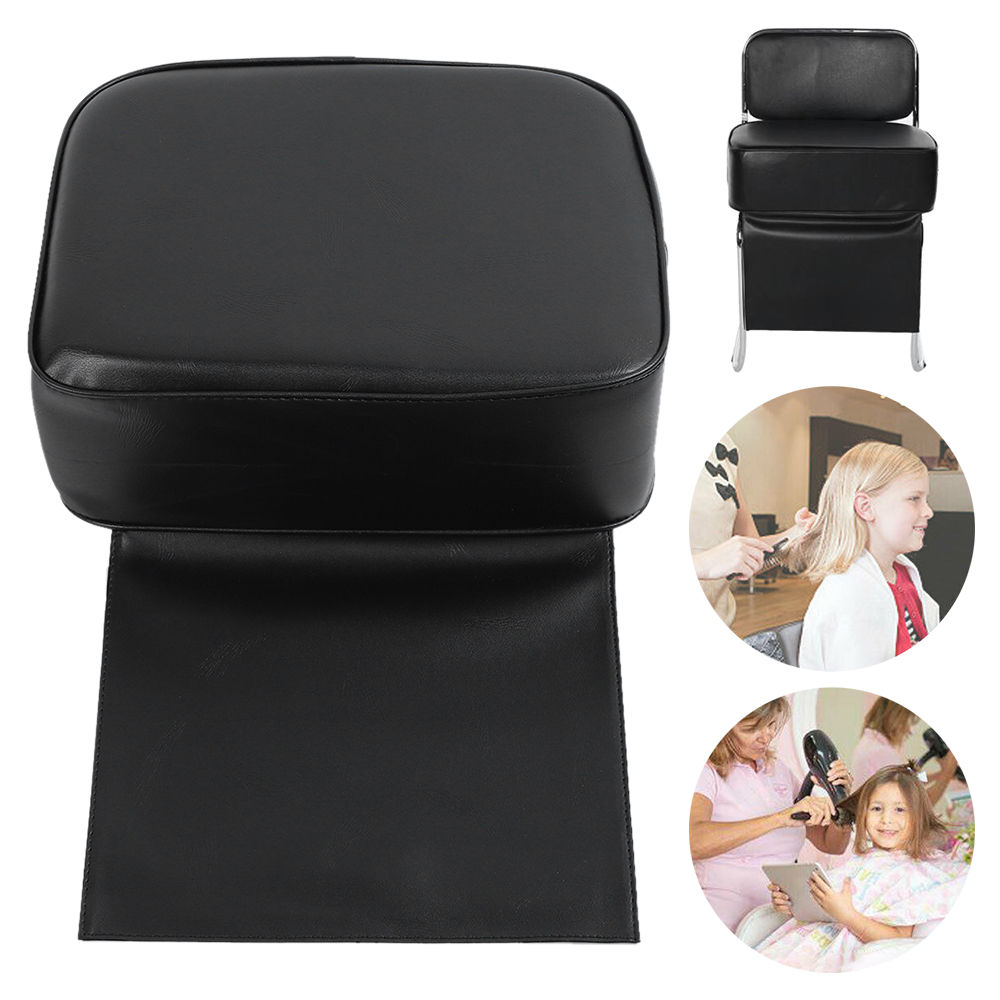 PU Hair Salon Barber Boost Seat Chair For Kids Hair Salon Styling Barber Cushion Hair Salon Accessories Styling Supplies Tools