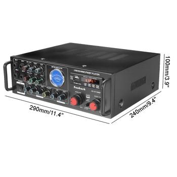 Усилитель мощности SUNBUCK TAV-3313WBT, 2*100 Вт, Bluetooth 6