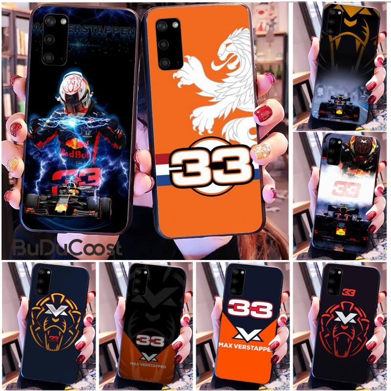 Custodia per telefono Lion numero F1 Racer 33 per Samsung S20 Plus Ultra S6 S7 Edge S8 S9 Plus S10 5G