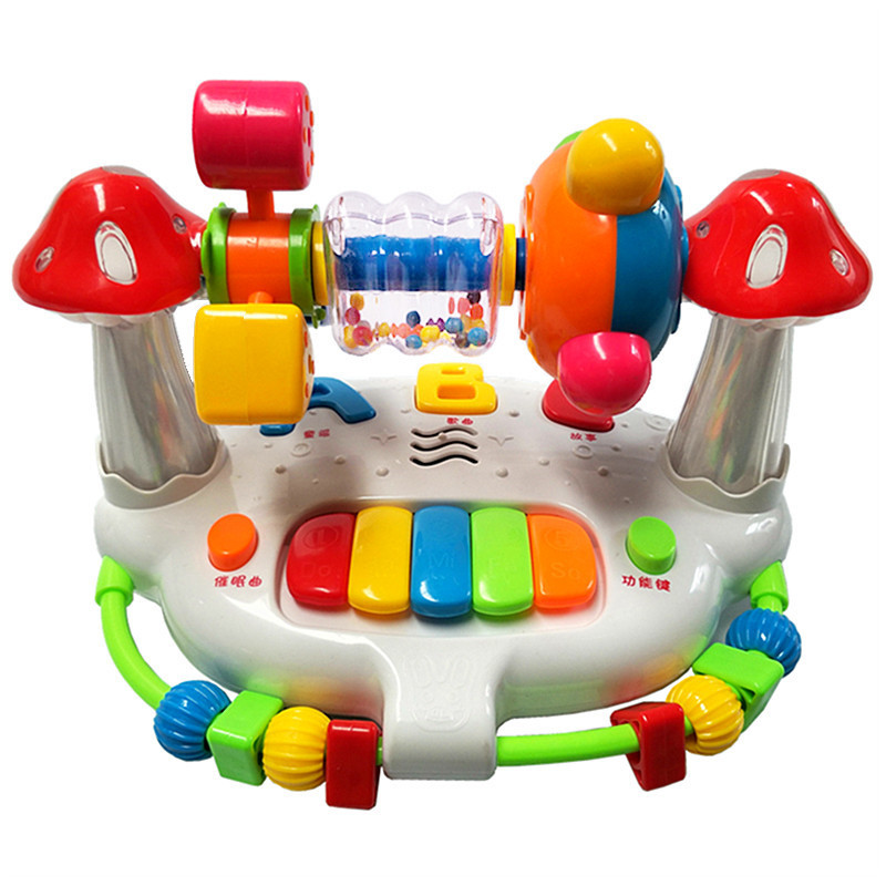 Baby 0-12 Months Early Education Education Baby Toy Music Box Multi-function Singing Baby Toy Sleeping Lullaby