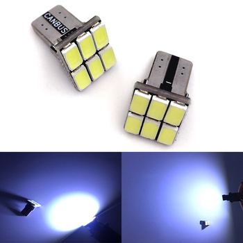 T10 1pcs W5w Led Bulb W5W 194 501 Car LED Interior Instrument Lights for Diode Auto Width Lamps Vehicle White 12V