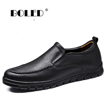 Genuine Leather Shoes Men Breathable Outdoor Casual Shoes Male Loafers Moccasins Handmade Flats Men Shoes handmade mens shoes genuine leather casual shoes luxury brand breathable men flats shoes big size male loafers zapatos gray blue