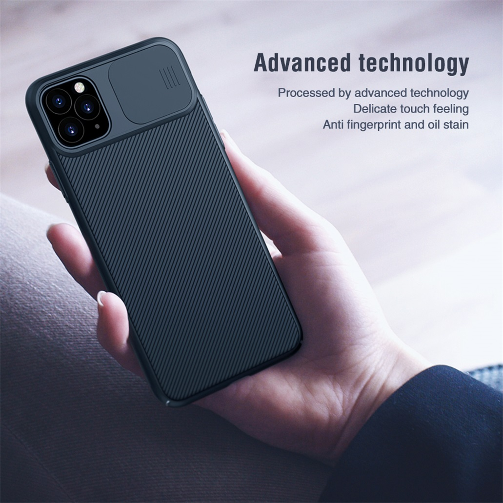 H63ef96abe495464c8b480e8853590bc74 For iPhone 11 11 Pro Max Case NILLKIN CamShield Case Slide Camera Cover Protect Privacy Classic Back Cover For iPhone11 Pro