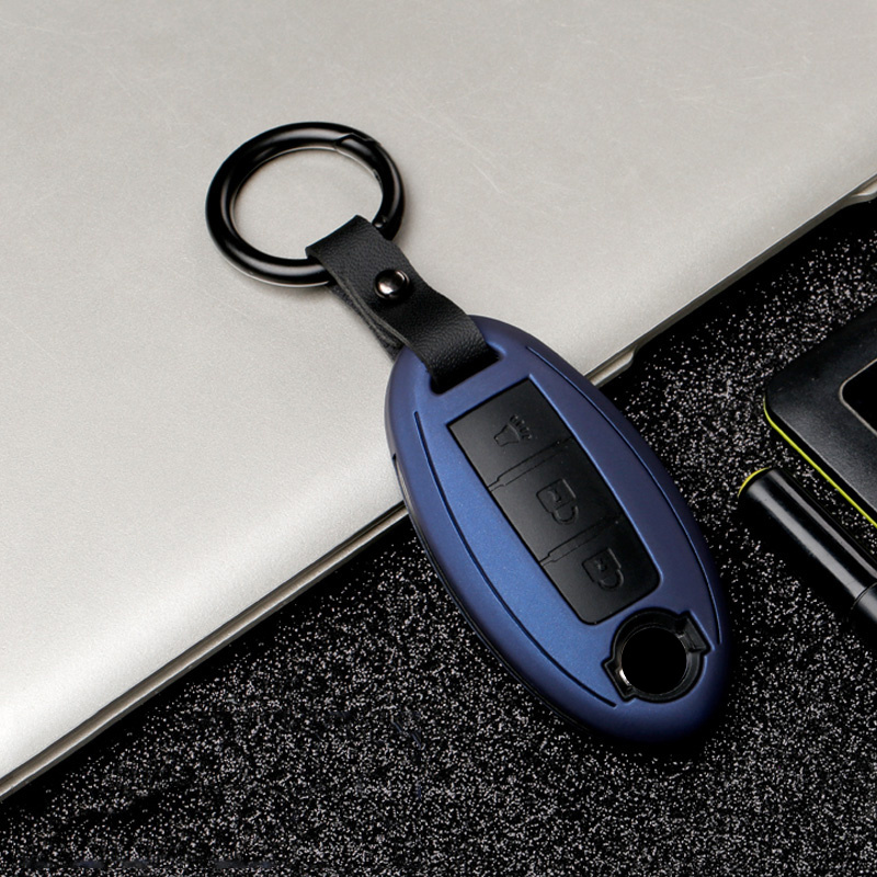 Car Remote Key Case Cover For Nissan Rogue XTrail T32 T31 Qashqai J11 J10 Kicks Tiida Pathfinder Murano Juke Versa Note Infiniti