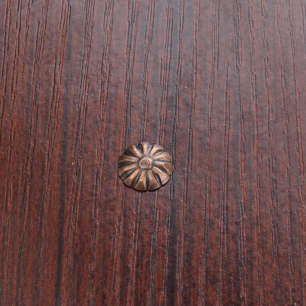 Pack dari 200 Elegan Vintage Kancing Perunggu Pin 11X16 Mm Pelapis Kuku untuk Furniture