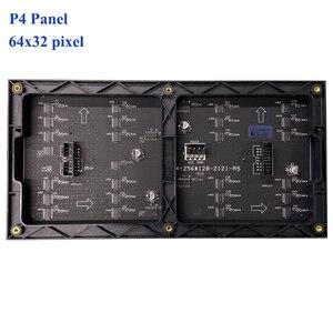 Image 2 - Светодиодный настенный видеомодуль RGB P4, 64x32 дюйма, P2.5, P3, P4, P5, P6, P8, P10, 256x128 мм, полноцветный дисплей для помещения
