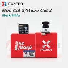 وصل حديثًا كاميرا Foxeer Mini Cat 2/Micro Cat 2 ذات ضوء النجوم كاميرا FPV منخفضة الضوضاء بطول 1 لوكس منخفضة الكمون/كاميرا Micro Cat 2 1200TVL FPV