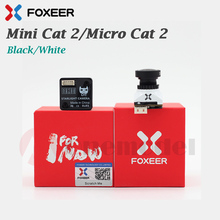 Foxeer Mini Cat 2, caméra StarLight FPV, faible bruit 0,0001 lux, faible latence, Micro Cat 2 1200TVL, nouvel arrivage