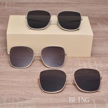 Солнцезащитные очки с квадратными линзами uv400 для мужчин и