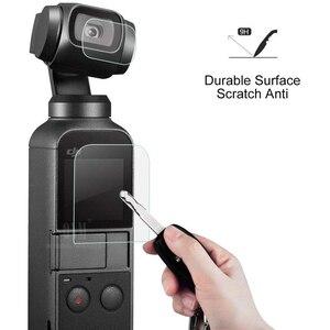 Image 4 - DJI אוסמו כיס מסך מגן אביזרי עדשת מגן סרט Gimbal כיסוי Accesorios מסנן עבור DJI אוסמו כיס