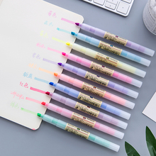 10 Colors fluorescent pens highlighter art marker pen liquid marker water color drawing kids learn painting gift students supply delvtch 6pcs set 1 0mm color gel ink pen glitter highlighter fluorescent pen art marker pens painting drawing student staionery
