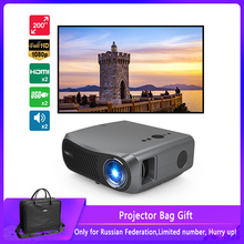 CAIWEI Full HD Projector A12 Native 1080P Android 2G+16G Dual WIFI LED