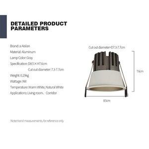 Image 5 - Aisilan светодиодный светильник фоновый Точечный светильник высокого качества алюминиевый точечный потолочный светильник кри чип