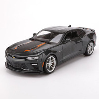 1/18 Scale 2017 Chevrolet CAMARO Diecast Alloy Metal Racing Police Car Vehicle Autos Model Toy For Collections Gifts