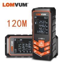 цена на LOMVUM LV 66U Handhold Laser Rangefinder Digital Laser Distance Meter Electrical Level Tape Misuratore Laser Distance Measurer