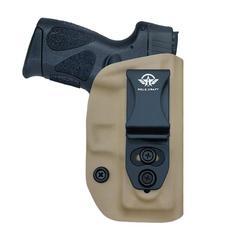 Kydex IWB Sarung Taurus G2C & Millennium PT111 G2/PT140 9 Mm Pistol Kasus Dalam Pinggang Membawa Tersembunyi Sarung gun Kantong