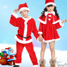 2019 Autumn New Children Clothes Set Christmas Costumes Santa Claus Male Girl Child Clothing
