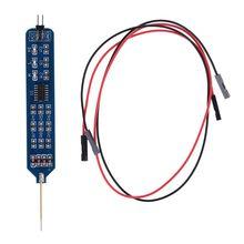 5V 3 3V Logic pióro testowe Tester poziomu cyfrowy obwód Debugger Logic Pulser Analyzer wykrywanie sondy narzędzie obwodu tanie tanio OOTDTY CN (pochodzenie) NONE Logic Test Pen