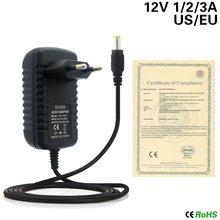 Dc12v adaptador de alimentação 1a 2a 3a AC100-240V led rgb ir controle remoto 24 /44 teclas para smd2835 3528 5050 led strip luz