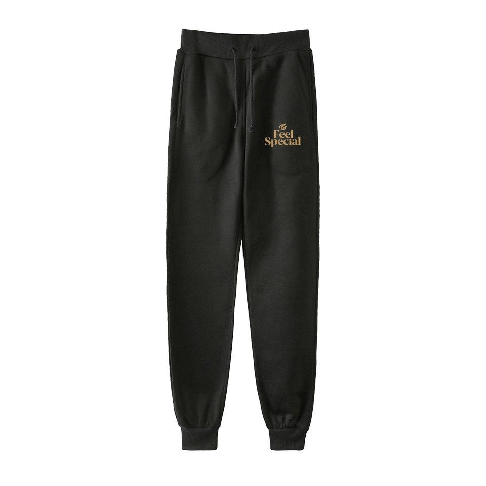 Twice Fashion Printed Jogger Pants Women/Men Streetwear Long Pants 2019 New Arrival Hot Sale Casual Sweatpants