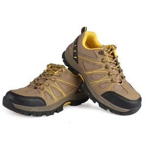 Image 3 - Zapatos de seguridad de punta de acero para mujer, botas de trabajo de seguridad, calzado de construcción, color rosa