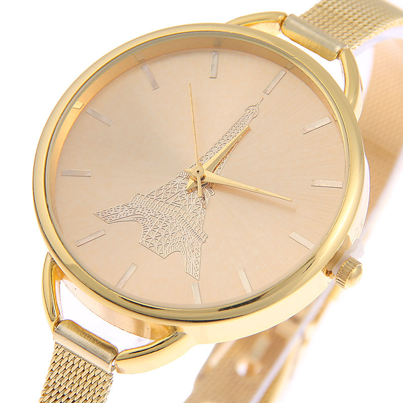 JOOM Hot Style Ms Ultra-thin Stainless Steel Mesh Belt Watch Watch Male Business Watch Manufacturer Wristwatch