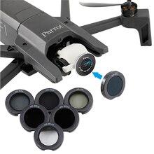 Комплект фильтров для объектива Parrot ANAFI MCUV ND 4 ND 8 ND16 ND32 CPL Поляризационный защитный чехол для Parrot ANAFI Drone аксессуары
