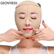 Подтягивающая маска для всего лица, тонкие средства для лица, забота о здоровье, массажная маска для похудения, массажная повязка для лица, S/M/L/XL, подтягивающий подбородок, V, корректирующее средство для лица