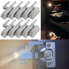 20 шт/10 шт универсальный светодиодный светильник для шкафа