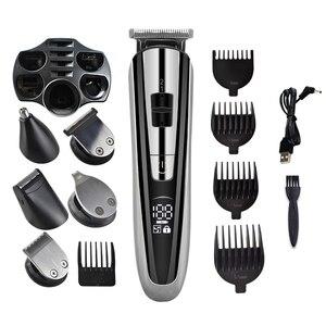 Image 3 - Kemei машинка для стрижки волос KM2600 электрический триммер для волос мощная машинка для бритья волос профессиональная машинка для стрижки волос электрическая бритва для бороды 5