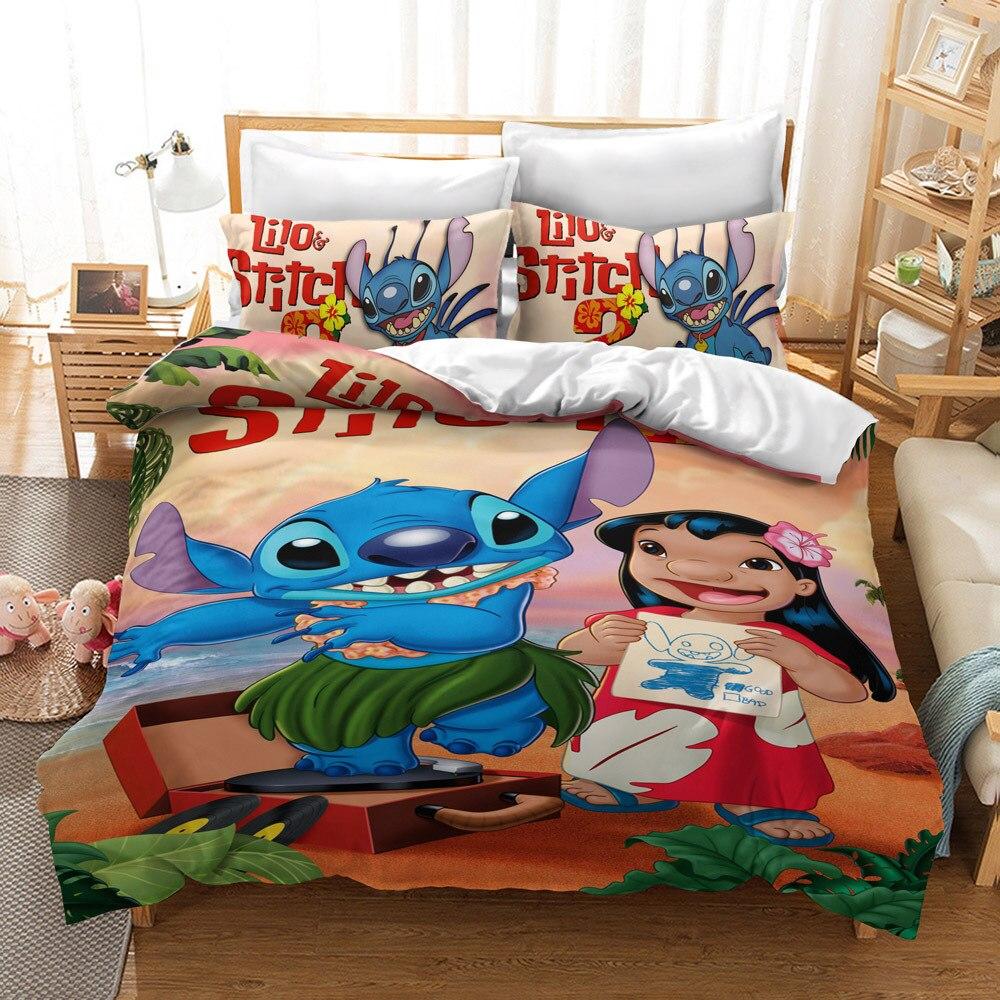 3d disney roupa de cama tamanho king queen para criancas 05