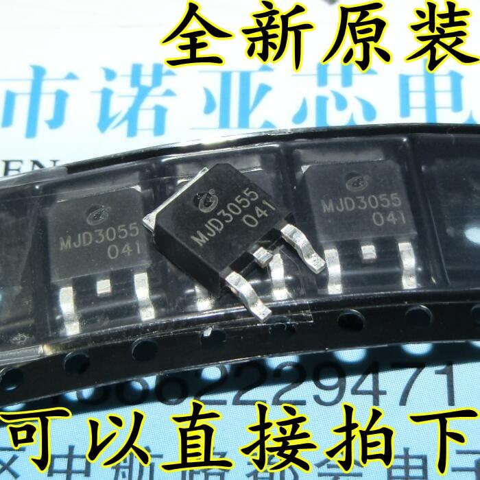 10pcs/lot Brand New Original MJD3055 Patch TO-252 Patch Transistor 3055