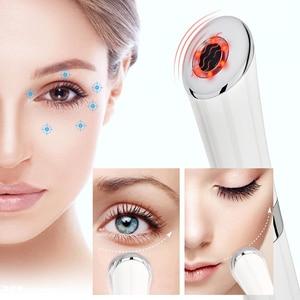Image 5 - Caneta massageadora facial, para cuidados com a pele, massageador elétrico para os olhos, caneta mágica antirrugas, ferramenta de beleza