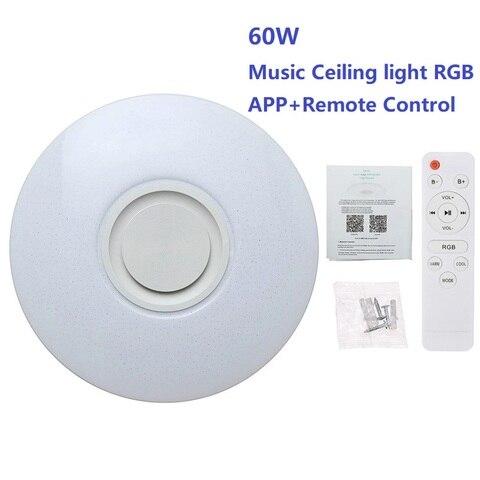 lampada de teto led 54w 60w rgb