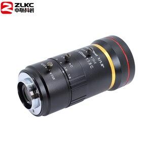Image 2 - 3.0 megapixel 12 120mm hd cctv lente manual iris varifocal c montagem lente para câmeras ip lente baixa distorção fa