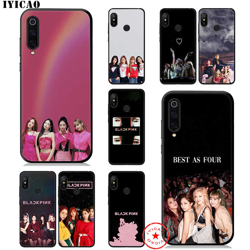 IYICAO Blackpink Lisa Rose K Pop Soft Case for Xiaomi Mi A3 A2 A1 CC9 CC9E 9T 9 8 6 SE Lite Pro Mi F1 Max 3 5X 6X MiA1 MiA2