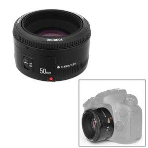 Image 3 - YONGNUO YN EF 50mm f/1.8 עדשת AF 1:1.8 סטנדרטי ראש עדשת צמצם פוקוס אוטומטי עבור Canon EOS 60D 70D 5D2 5D3 600d DSLR מצלמות