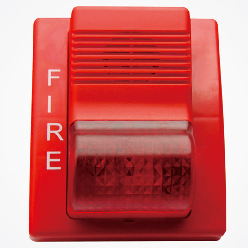 Addressable Fire Alarm Sounder With Strobe Flasher  Fire Alarm Strobe Siren  TCSG5266 Addressable Fire Alarm System With LPCB
