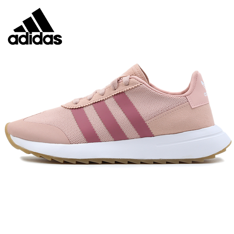 Original Adidas FLB_RUNNER W Womens Running Shoes Light Pink Sneakers Outdoors Sports B28047