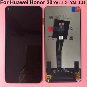 Image 4 - 100% ทดสอบต้นฉบับสีดำ 6.26 สำหรับ Huawei Honor 20 honor20 /nova 5T YAL L21 จอแสดงผล LCD หน้าจอสัมผัส digitizer ASSEMBLY Parts