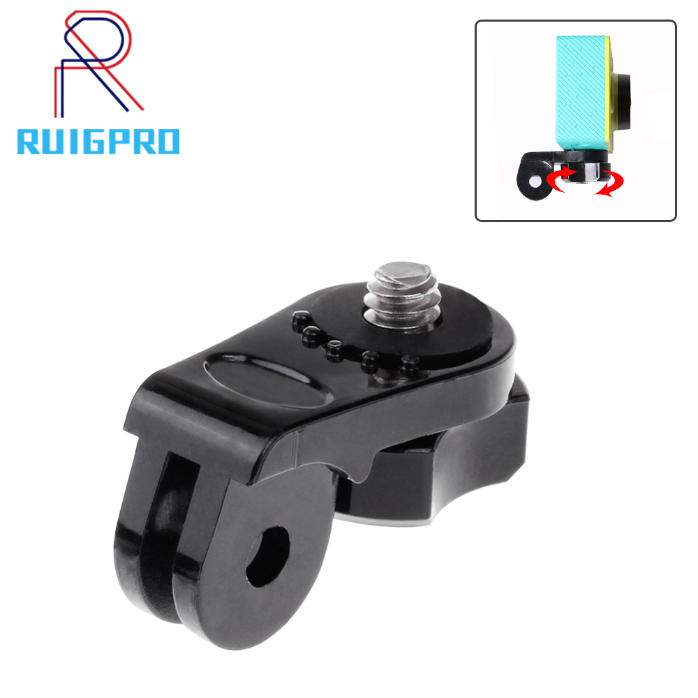 1/4 Screw Tripod Mount Adapter Converter <font><b>Accessories</b></font> for Xiaomi Yi <font><b>Sony</b></font> AS20 <font><b>AS30V</b></font> AS100V AS200V HDR AZ1 Action Camera to Gopro image