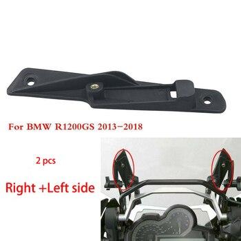 Direita + esquerda motocicleta pára brisa interna tira reforço da tela montado suporte de elevação para bmw r1200gs 2013  2018|Defletores de vento e parabrisas|Automóveis e motos -