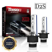TXVSO8 ampułka D2S reflektor HID 9000lm 35W/55W żarówka 4300K 5000K 6000K 8000K 10000K 12000K reflektory ksenonowe samochodowe 2020