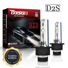TXVSO8 Ampoule D2S HID Headlight 9000LM 35W/55W Bulb 4300K 5000K 6000K 8000K 10000K 12000K Car Xenon Headlamps 2020