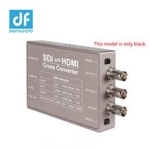 Seetec HDMI в SDI SDI-HDMI конвертер Мини конвертер вещания профессиональные 3G-SDI соединения SDI в HDMI конвертер