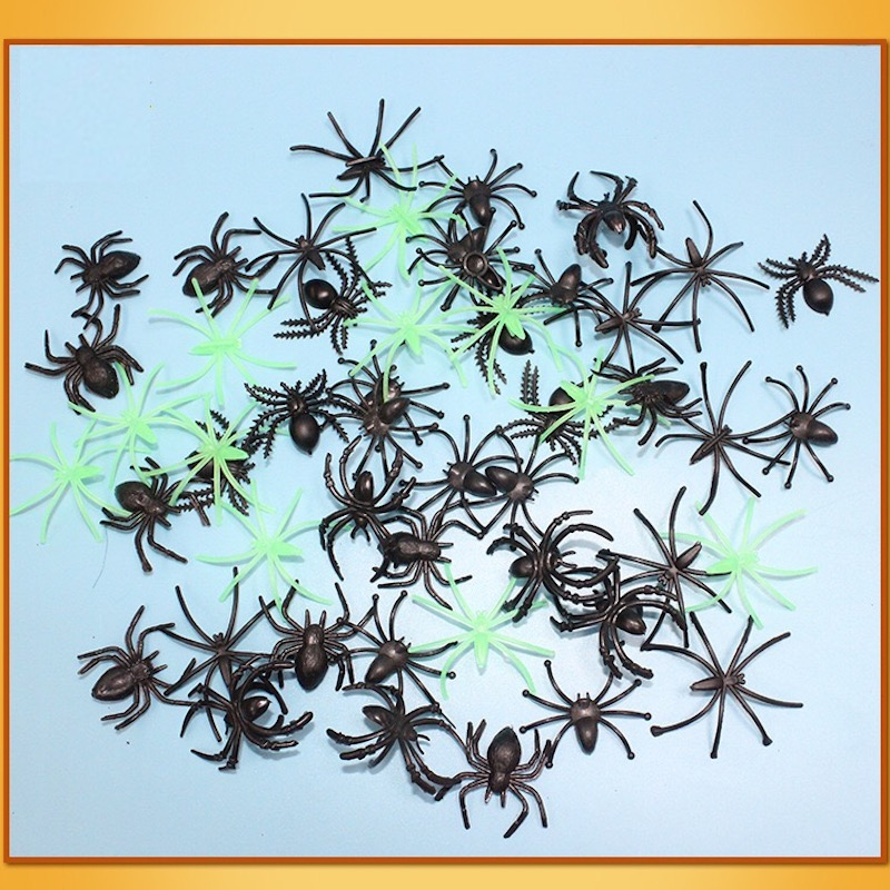 Halloween Decoration Horror Small Size Spider Toy For Party Halloween Decoration Horror House Drop Shipping