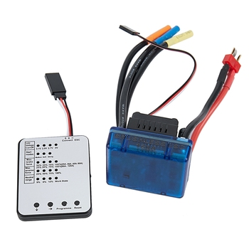 SURPASS HOBBY S-120A Brushless ESC with 6.1V/3A SBEC & Programming Card for 1/8 RC Car