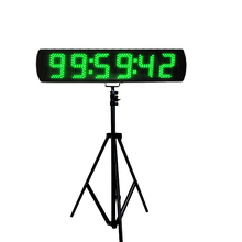 Hot selling  5 LED race timer digital horse timing clock count up with stand